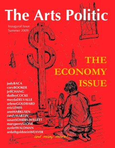 The Arts Politic Issue 1 Cover