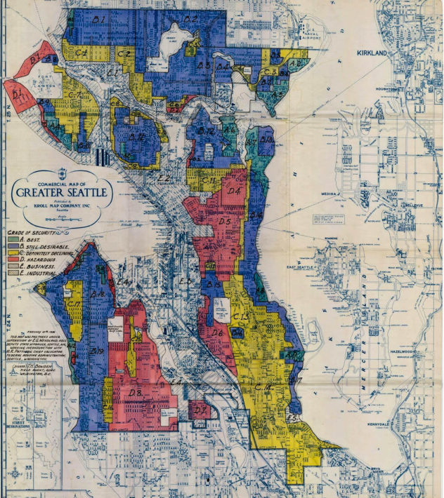 Biking Seattle's Redlining: An Interview with Merlin Rainwater